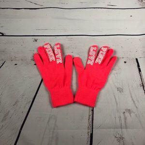 VS Hot Pink Gloves